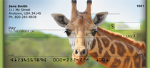 Giraffes Personal Checks