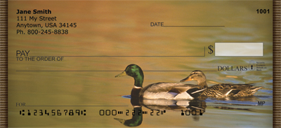 Duck Lovers Personal Checks - 4