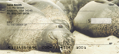 Elephant Seals and Sea Lions Personal Checks - 4