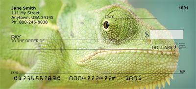 Lively Lizards Personal Checks - 1