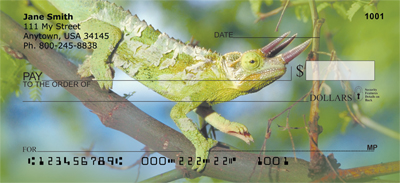 Lively Lizards Personal Checks - 2