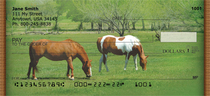 Grazing Green Pastures Personal Checks