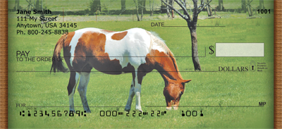 Grazing Green Pastures Personal Checks - 1