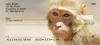 Monkey Days Personal Checks - 2