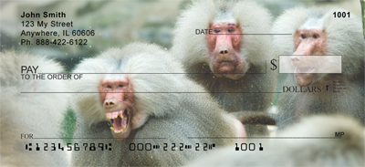 Monkey Days Personal Checks - 3