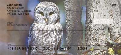 Wise Old Owls Personal Checks - 3
