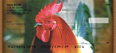 Roosters Personal Checks - 3