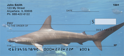 Shark Infested Waters Personal Checks - 1