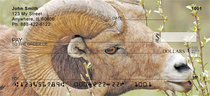 Big Horn Sheep Personal Checks
