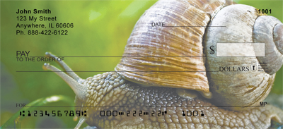 Snails On Parade Personal Checks - 3