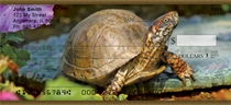Box Turtles Personal Checks