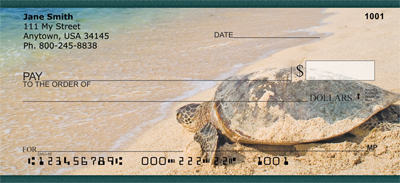 Sea Turtles Personal Checks - 1