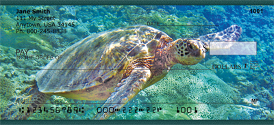 Sea Turtles Personal Checks - 2