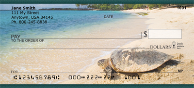 Sea Turtles Personal Checks - 3