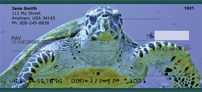 Sea Turtles Personal Checks - 4