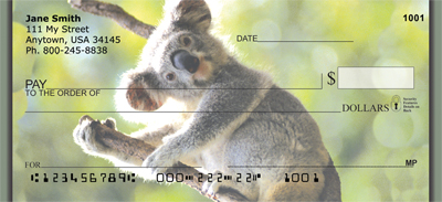 Koala Bears Personal Checks - 4