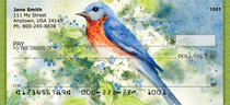 Nesting Birds Personal Checks