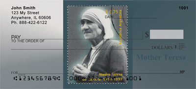 Mother Teresa Personal Checks - 1