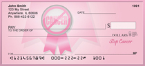 Stop Cancer Personal Checks