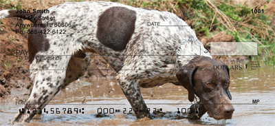 German Short Haired Pointers Personal Checks