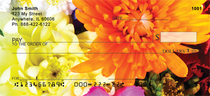 Colorful Floral Bouquets Personal Checks