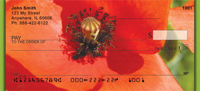 Poppy Personal Checks - 1