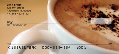 Coffee Lovers Personal Checks - 4
