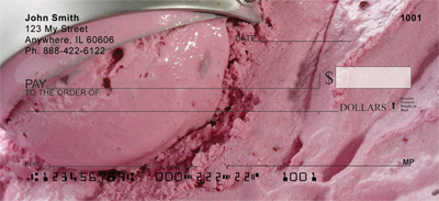 Ice Cream - Rich & Creamy Personal Checks - 1