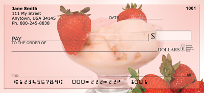 Sinful Sundaes Personal Checks - 2