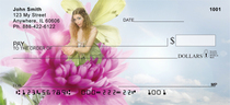 Spring Flower Fairies Personal Checks