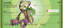 Designer Teddy Bears Personal Checks