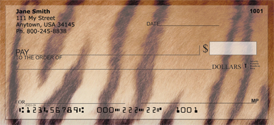 Animal Prints Personal Checks - 1