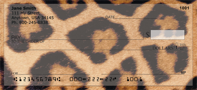 Animal Prints Personal Checks - 3