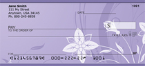 Lotus Blooms Personal Checks