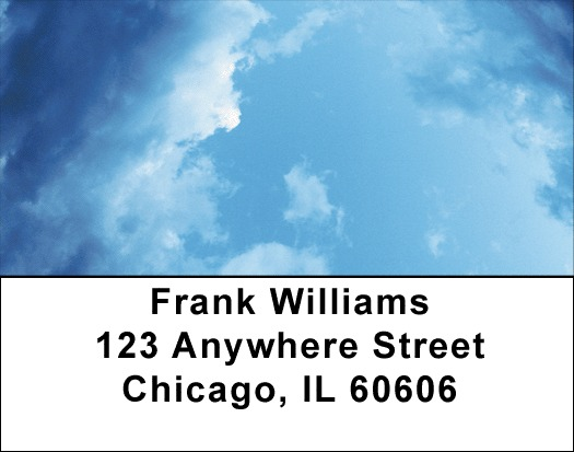 Out Of The Blue Address Labels