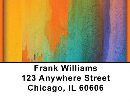 Color Me Hot Address Labels