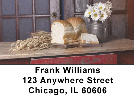 Country Kitchen Address Labels