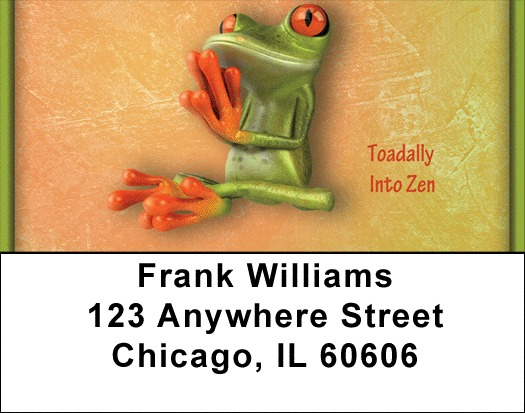 Find Your Zen Center Address Labels