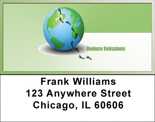 Go Green Address Labels