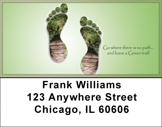 Leave A Green Trail Address Labels