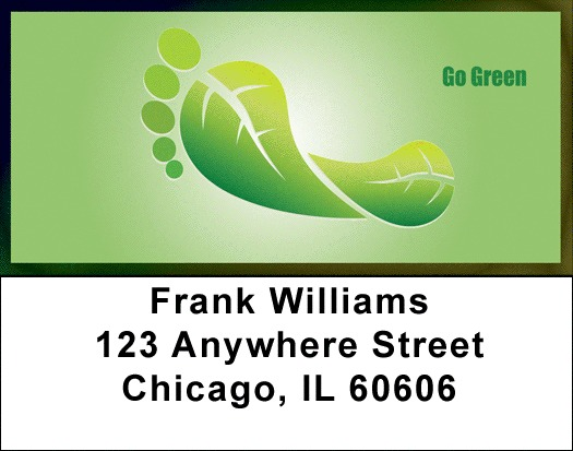 Think Green Address Labels