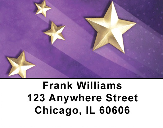 Bright Shining Stars Address Labels