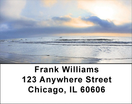 Silver Lining Address Labels