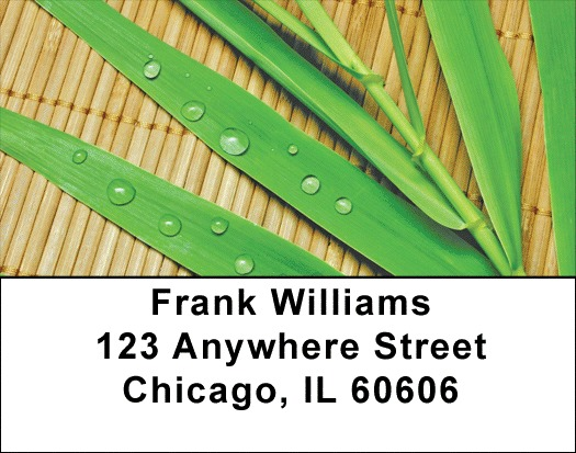 Bamboo Address Labels - 2