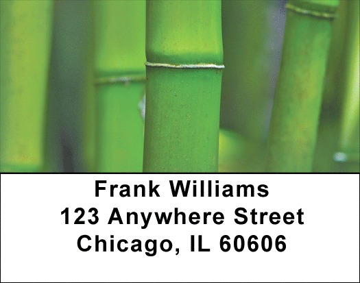 Bamboo Address Labels - 3