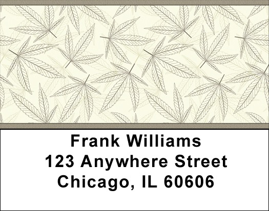 Legalize Marijuana - Weed Camo Address Labels