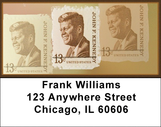 JFK Remembered Address Labels