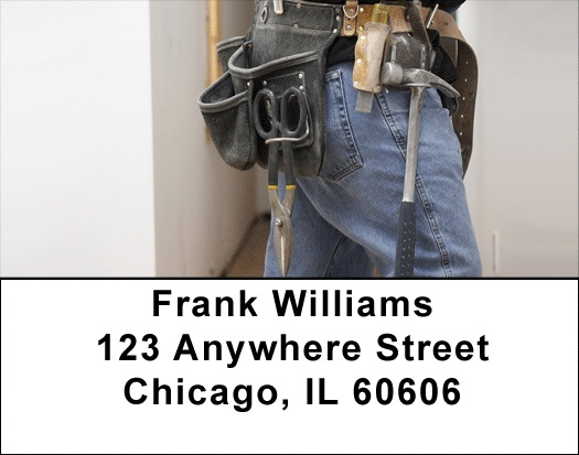 Handyman Tools Address Labels