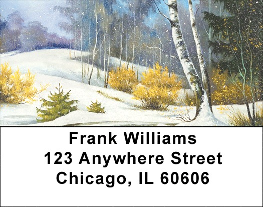 Aspen In Winter Address Labels - 1