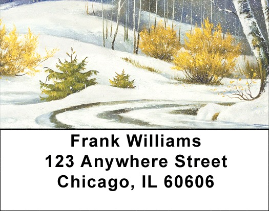 Aspen In Winter Address Labels - 2